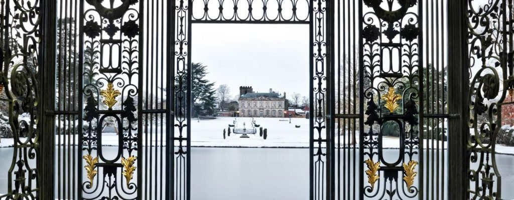Melbourne Hall in winter